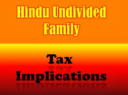 Can forming a HUF help in saving taxes?