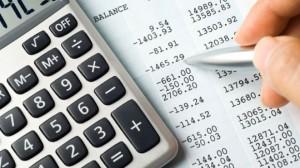 Calculator-Balance-Sheet-Numbers