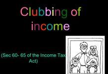 Clubbing of income
