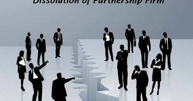 Process of Dissolution of partnership Firm