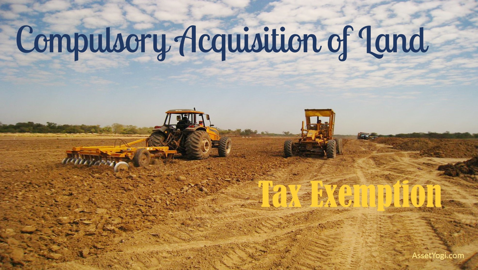 compulsory acquisition of Agricultural land