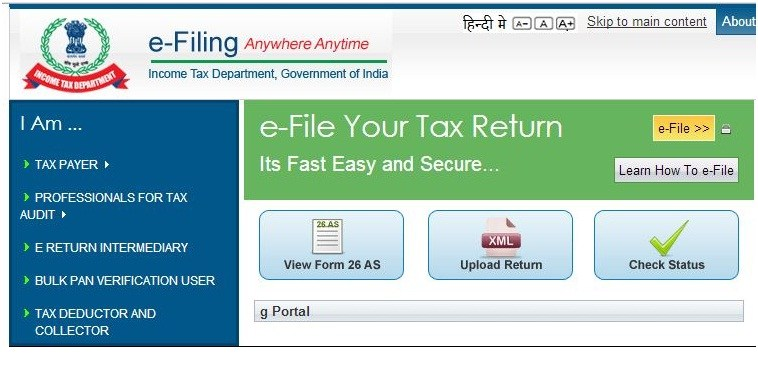 Procedure for electronic filing of appeal before CIT(Appeals)
