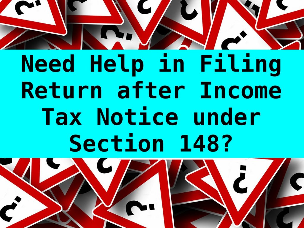 Notices Under Section 148 Of Income Tax