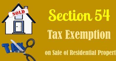 Understanding Exemptions under Section 54, 54EC & 54F