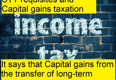 CBDT on STT requisites and Capital gains taxation- Cases where STT not Applicable