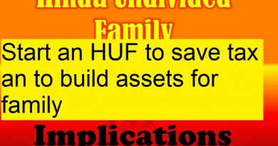 HUF- a tax planning tool to save tax