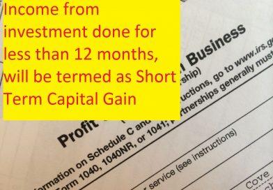 Capital Gains vs. Business Profits