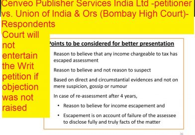 Cenveo Publisher Services India Ltd -petitioner vs. Union of India and Ors (Bombay High Court)-Respondents