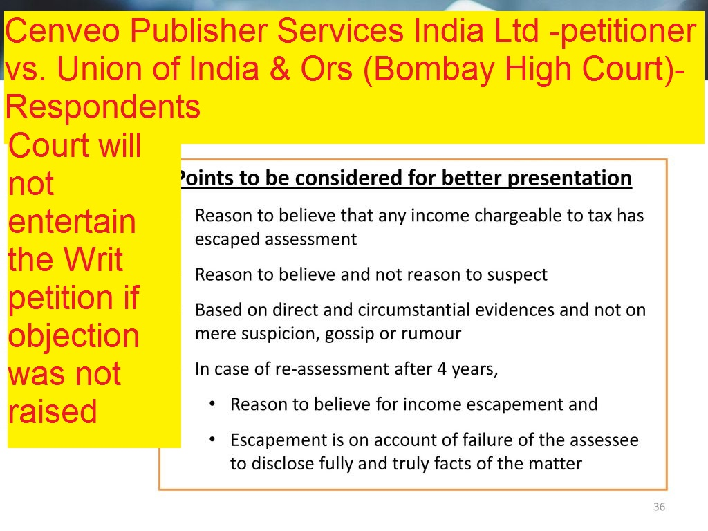 Cenveo Publisher Services India Ltd -petitioner vs. Union of India & Ors (Bombay High Court)-Respondents
