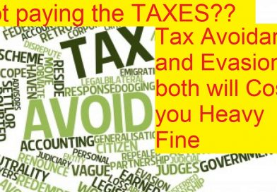 Which Is more bad Tax Avoidance and Tax Evasion?- Read to Know More-