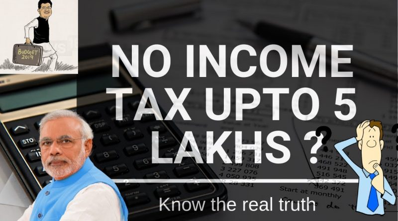 Pay Tax even if Income is Less Than Rs. 5 lakhs- Interim Budget 2019