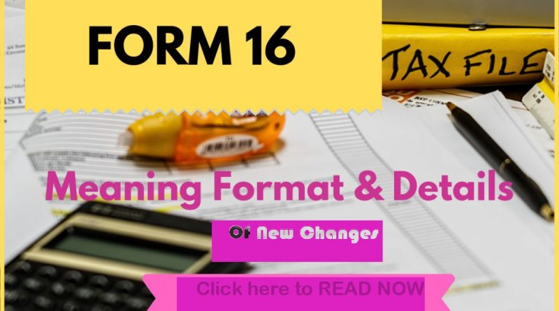 form 16 new format