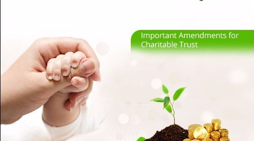 Proposed Changes about Taxation of Charitable Trusts