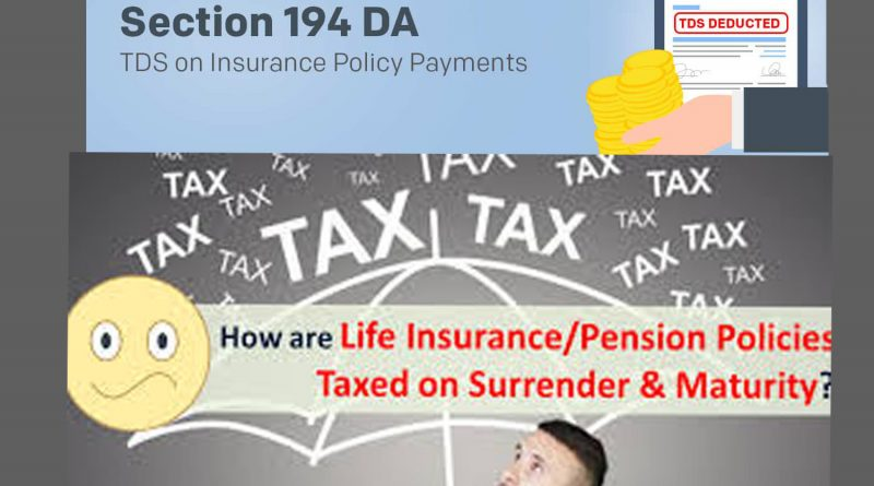 are insurance policies taxable