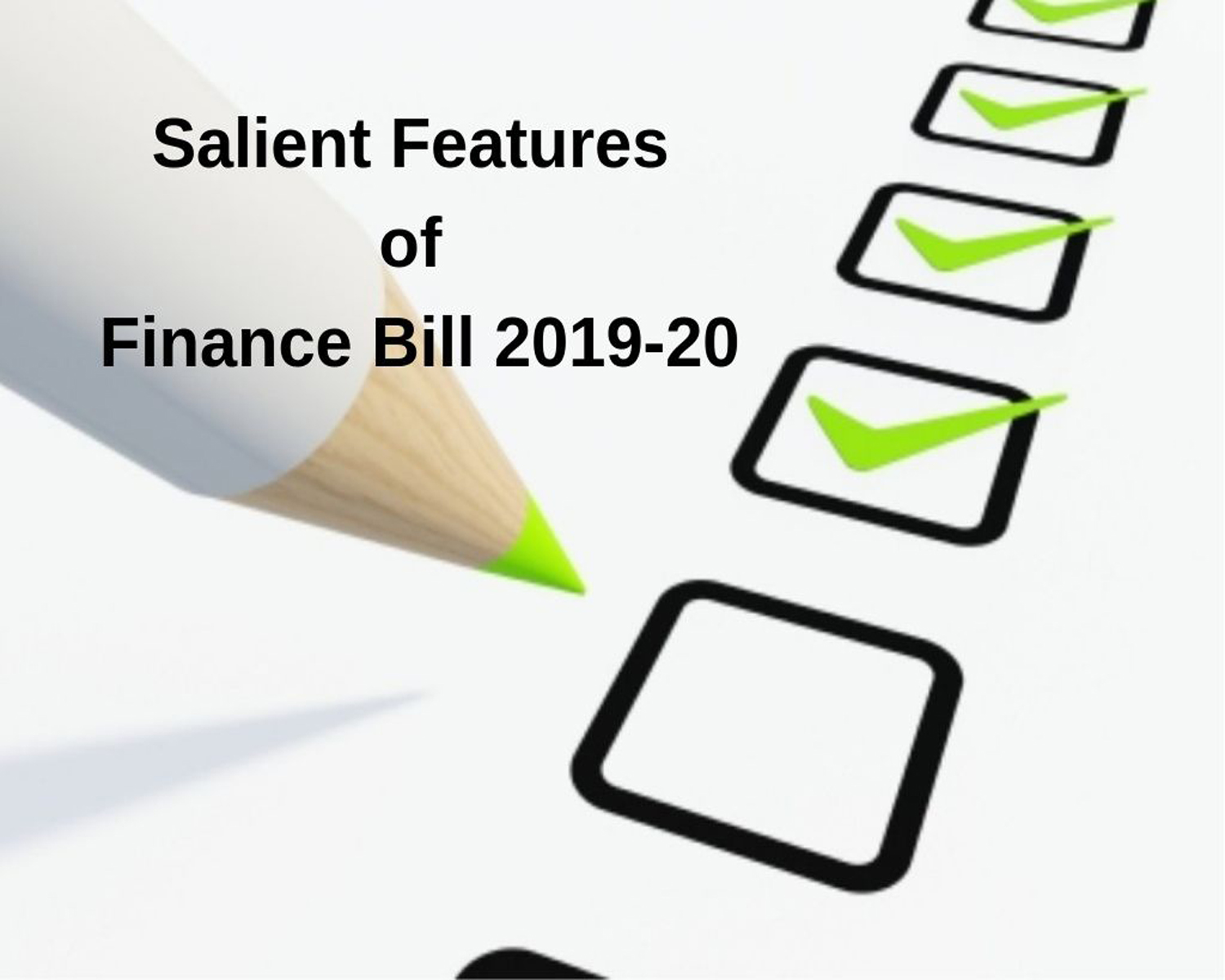 Changes in the TDS provision via the Finance bill
