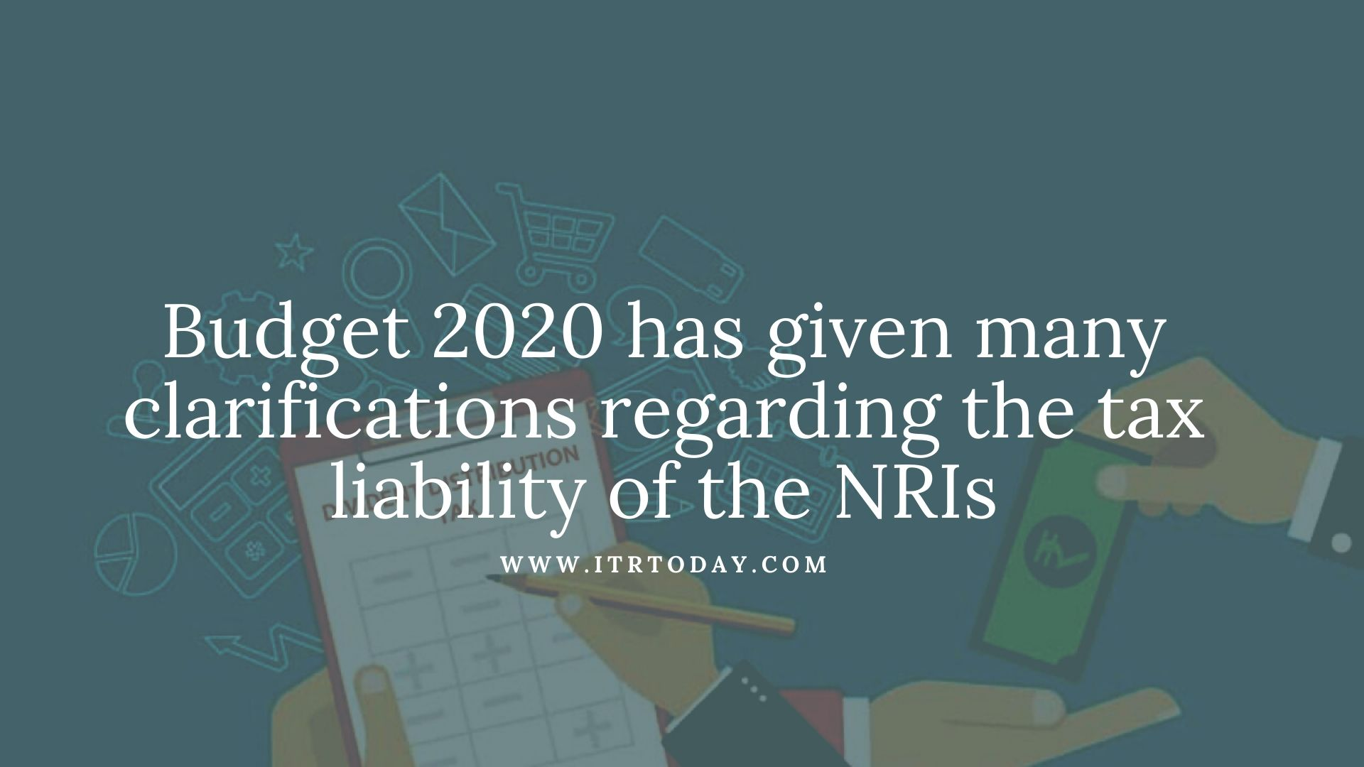 NRIs to File Income Tax Returns 1