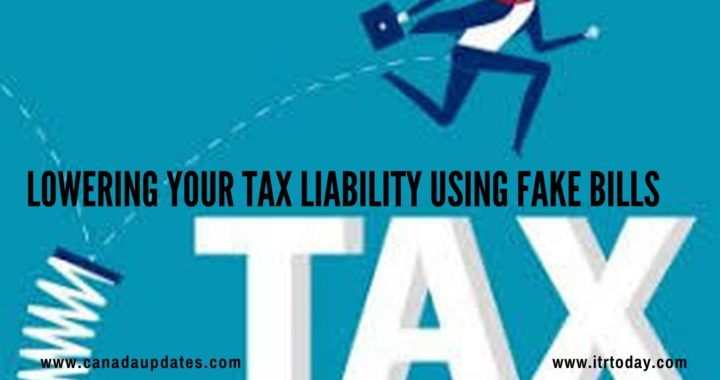 Lowering Your Tax Liability Using Fake Bills 1