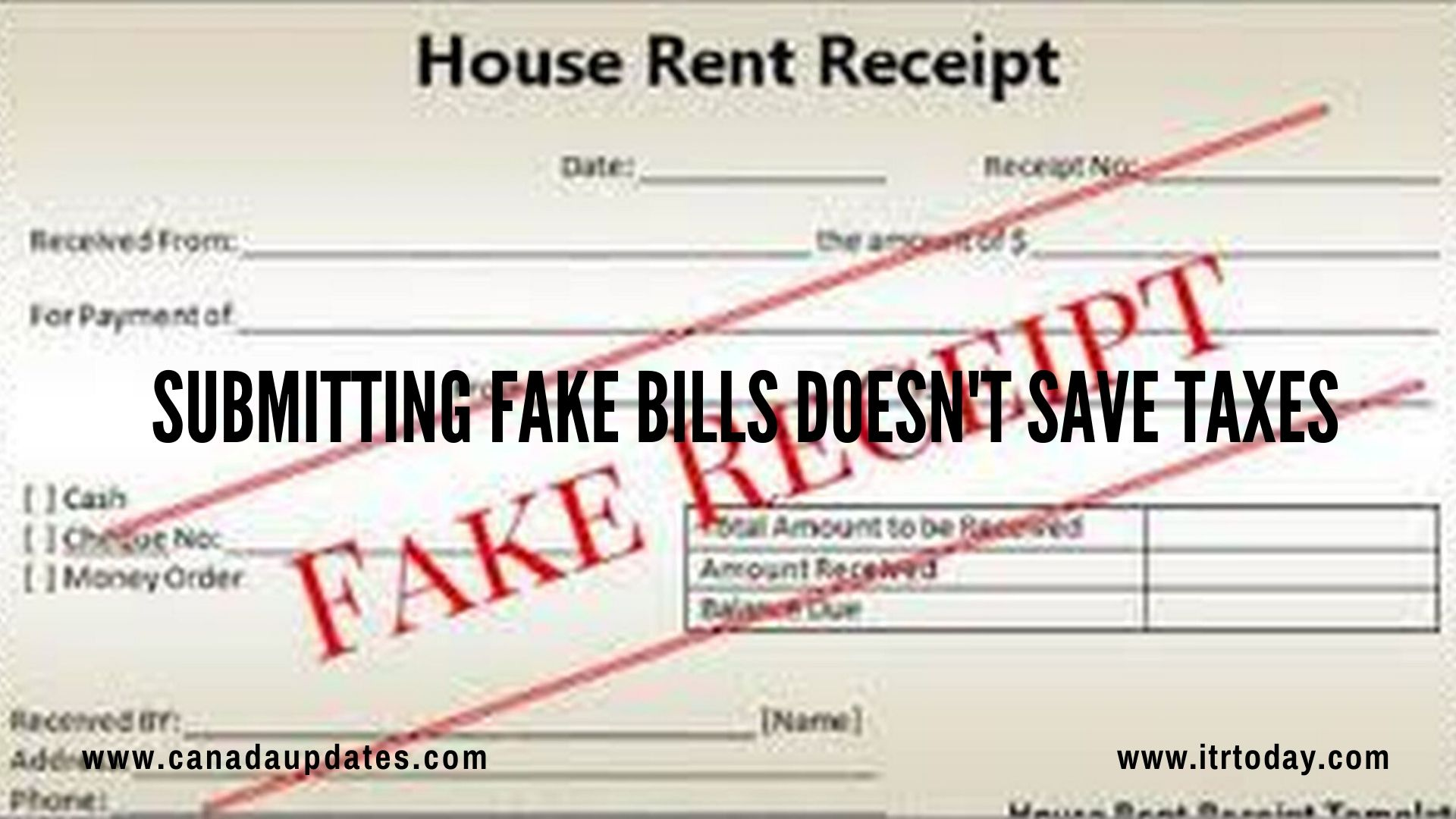 Lowering Your Tax Liability Using Fake Bills 3