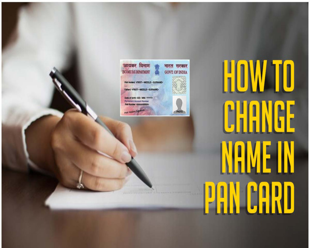 Process to Correct the PAN Card Online