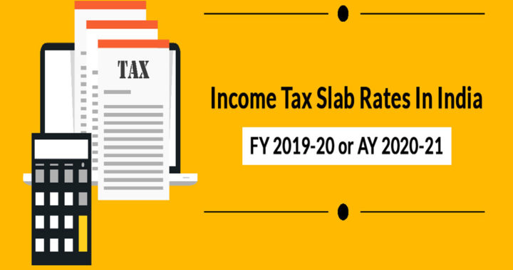income tax slab for ay 2019-20