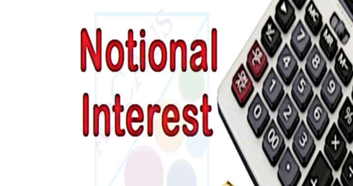 Notional Interest Income on Loan
