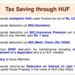 Create HUF to save tax and Other Important Aspects of HUF Under Income Tax, 1961