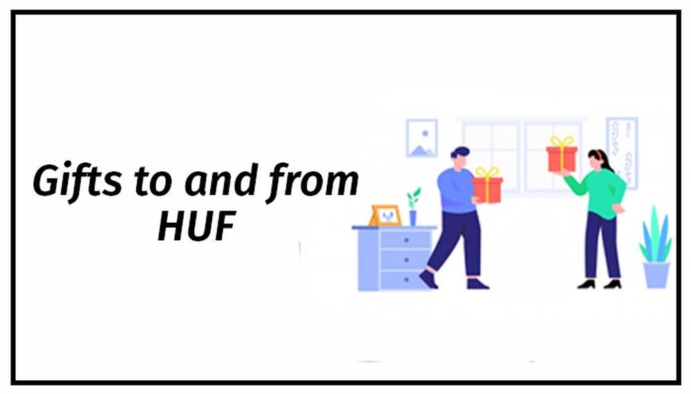 Gifts to HUF